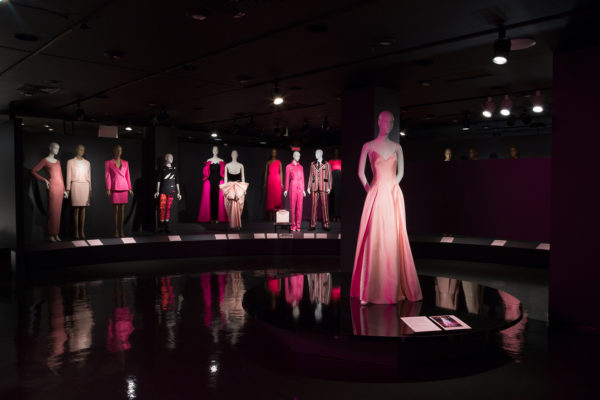 Pink exhibition view. The Museum at FIT.