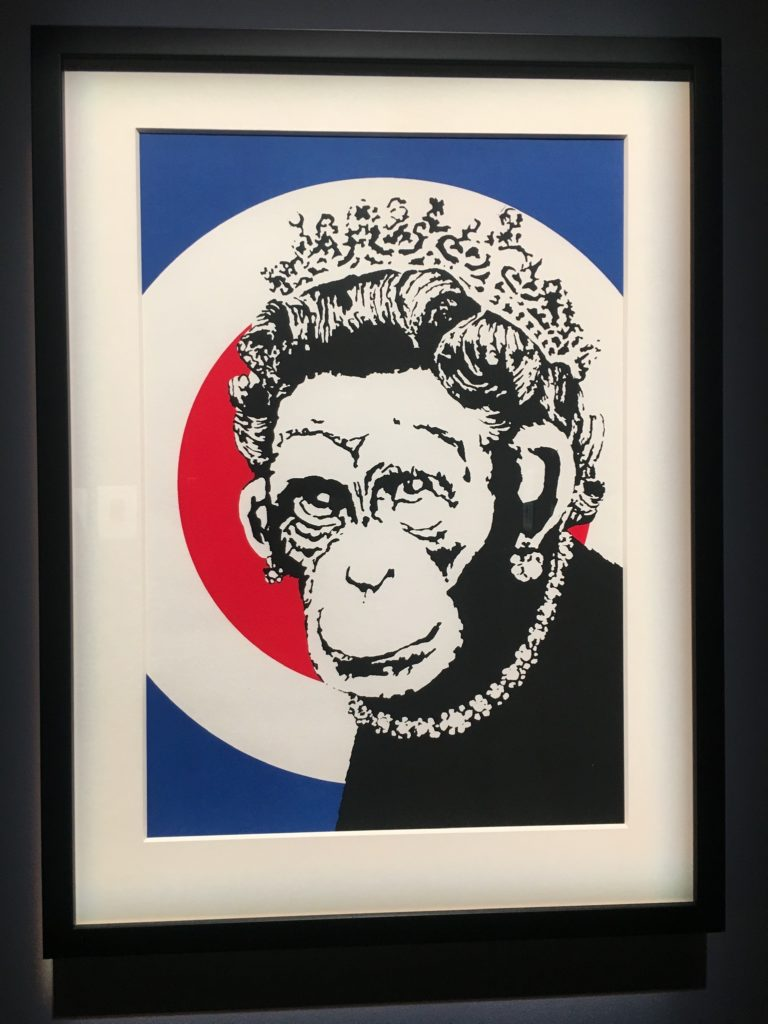 Bansky, Monkey Queen,