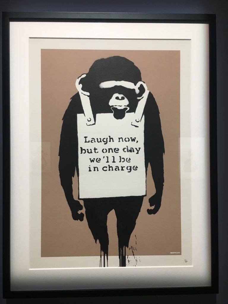 Bansky, Laugh Now,