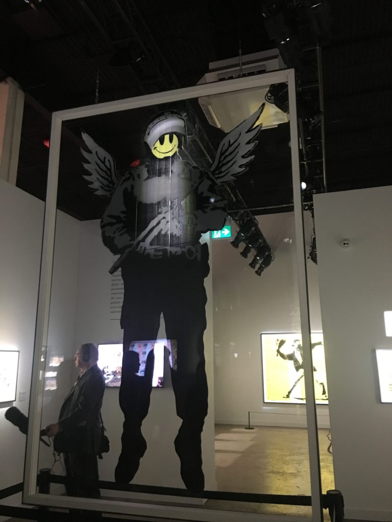 Bansky, installation view
